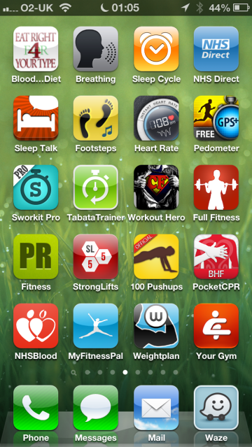 iOS Fitness Apps