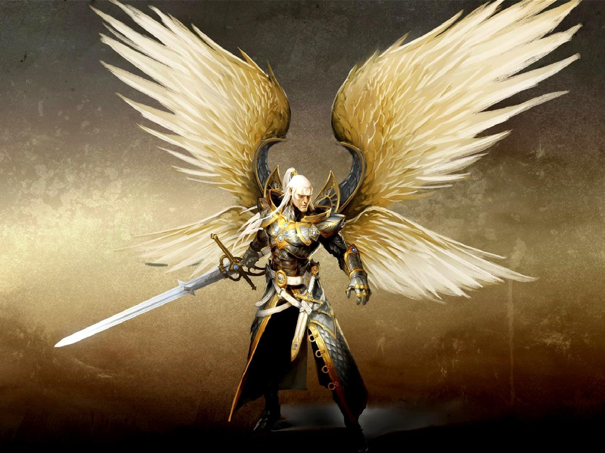 Angel in Armour with Sword