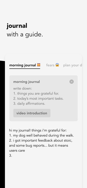 Journaling - The Stoic Method & App 5