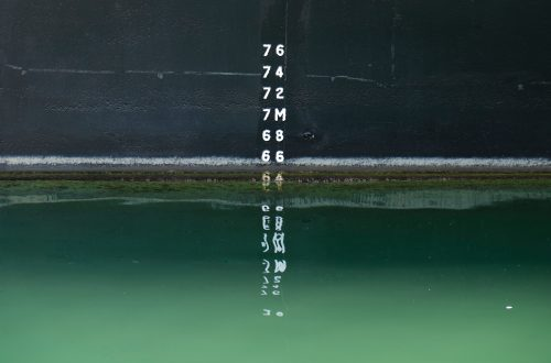 Body of Water with Depth Measure
