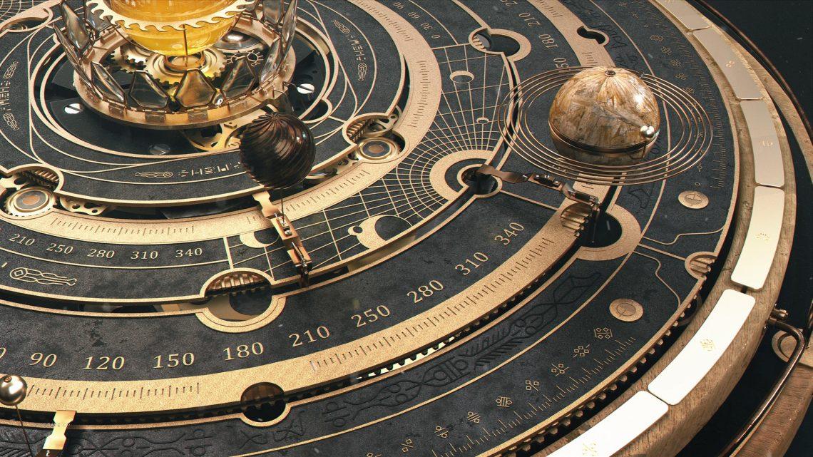 Steampunk Astrolabe
