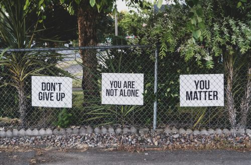 Don't Give Up. You Matter.